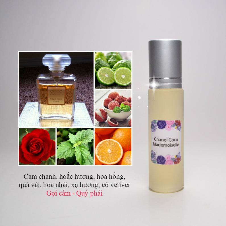 Tinh dầu nước hoa Pháp Chanel Coco Mademoiselle