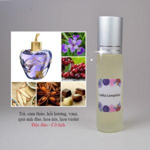 Tinh dầu nước hoa Lolita Lempicka
