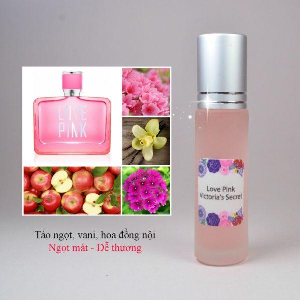 Tinh dầu nước hoa Love Pink
