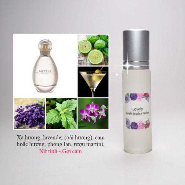 Tinh dầu nước hoa Lovely by Sarah Jessica Parker
