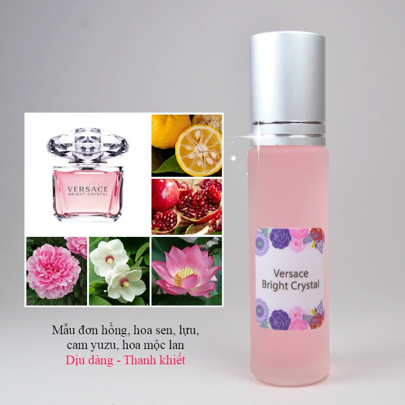 Tinh dầu nước hoa Versace Bright Crystal