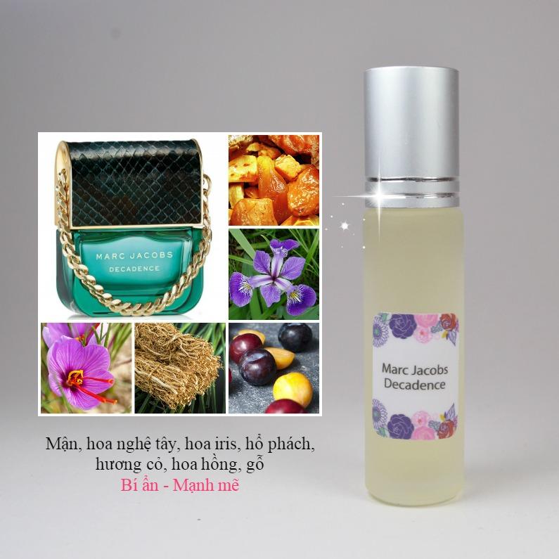 Tinh dầu nước hoa Decadence by Marc Jacobs