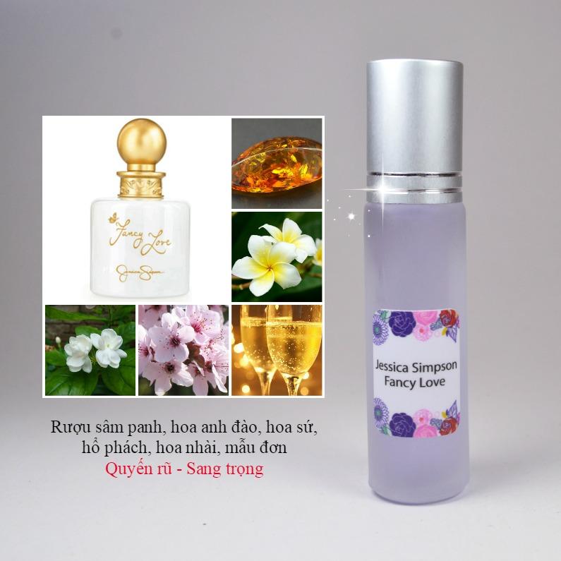 Tinh dầu nước hoa Fancy Love