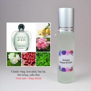 Tinh dầu nước hoa Acqua Di Gioia