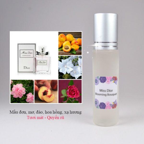 Tinh dầu nước hoa Miss Dior Blooming Bouquet