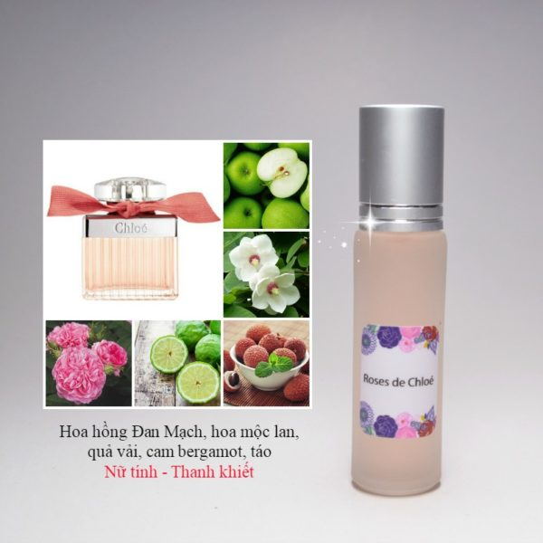 Tinh dầu nước hoa Roses De Chloe