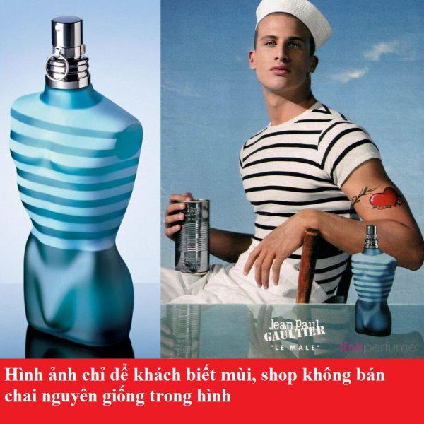 Tinh dầu nước hoa Le Male by Jean Paul Gaultier