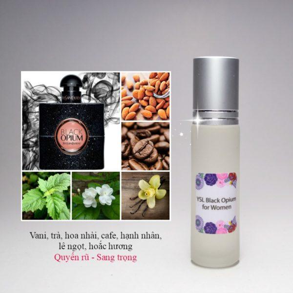 Tinh dầu nước hoa Black Opium