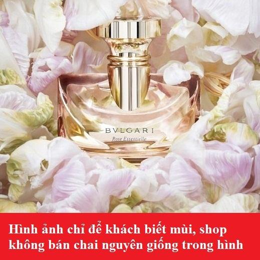 Tinh dầu nước hoa Rose Essentielle by BVLGARI