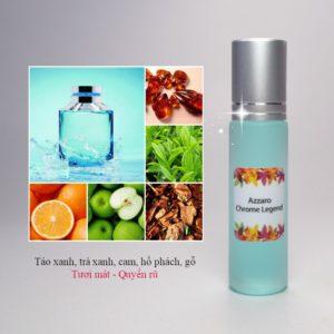 Tinh dầu nước hoa Chrome Legend by Azzaro