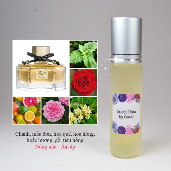 Tinh dầu nước hoa Flora by Gucci