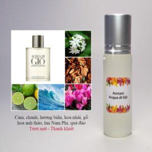 Tinh dầu nước hoa Acqua di Giò