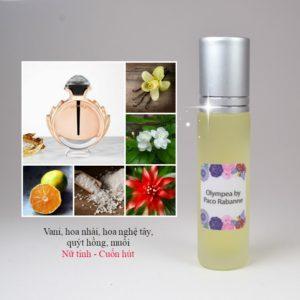Tinh dầu nước hoa Olympea by Paco Rabanne