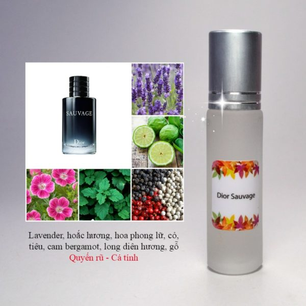 Tinh dầu nước hoa Sauvage by Dior
