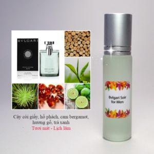 Tinh dầu nước hoa Soir for men by Bvlgari