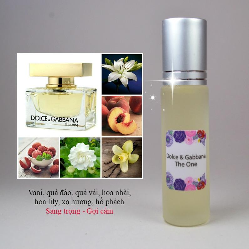Tinh dầu nước hoa The One for her by D&G