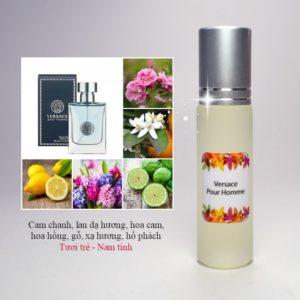 Tinh dầu nước hoa Versace Pour Homme