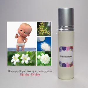 Tinh dầu nước hoa Baby Powder