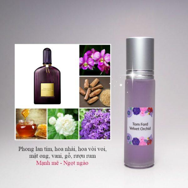 Tinh dầu nước hoa Velvet Orchid