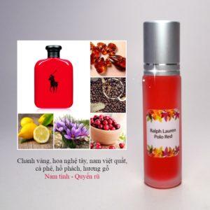 Tinh dầu nước hoa Polo Red by Ralph Lauren