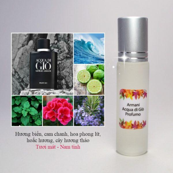 Tinh dầu nước hoa Acqua di Giò Profumo for men