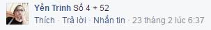 Yến Trinh (số 4 +52)