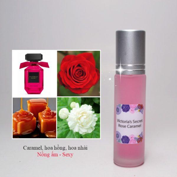 Tinh dầu nước hoa Rose Caramel