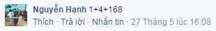 Nguyễn Hạnh (1 + 4 + 168) -24
