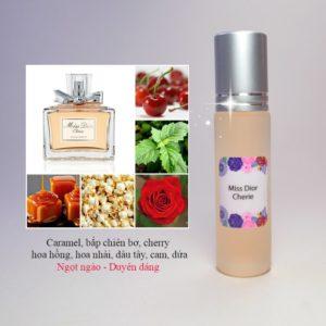 Tinh dầu nước hoa Miss Dior Cherie