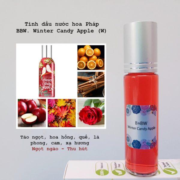 Tinh dầu nước hoa Pháp Winter Candy Apple