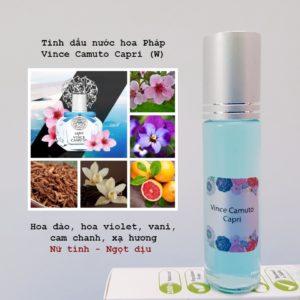 Tinh dầu nước hoa Capri