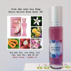 Tinh dầu nước hoa Pháp Rose Rush