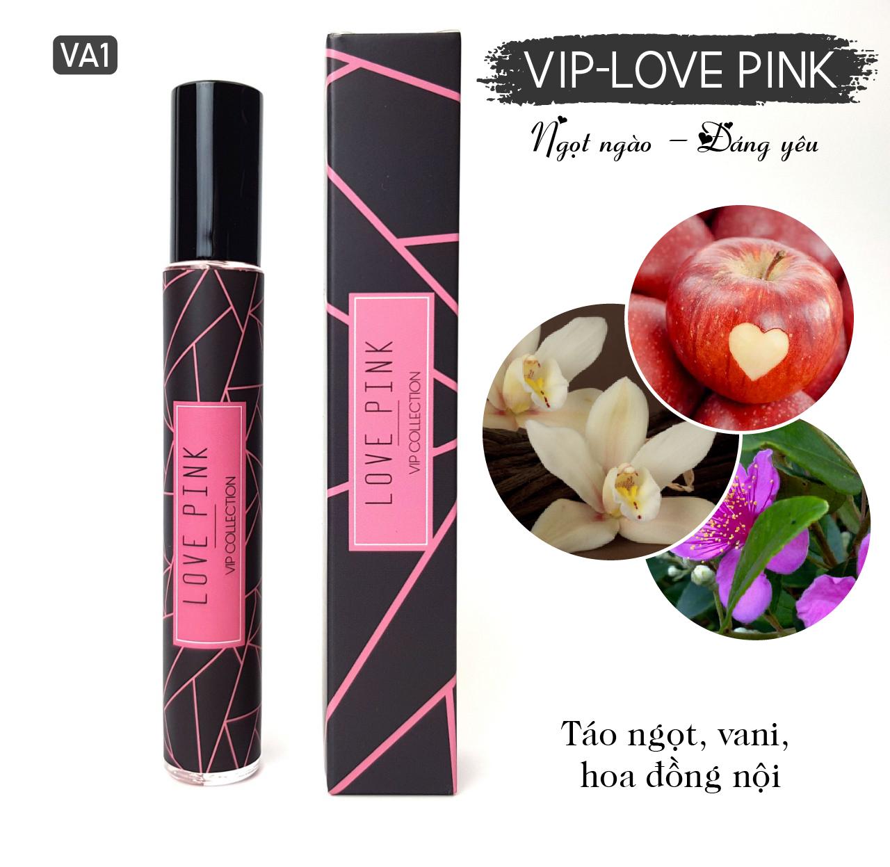 Tinh dầu nước hoa Pháp dòng VIP - Mã số VA1 - Love Pink