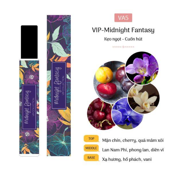 Tinh Dầu Nước Hoa Pháp Midnight Fantasy