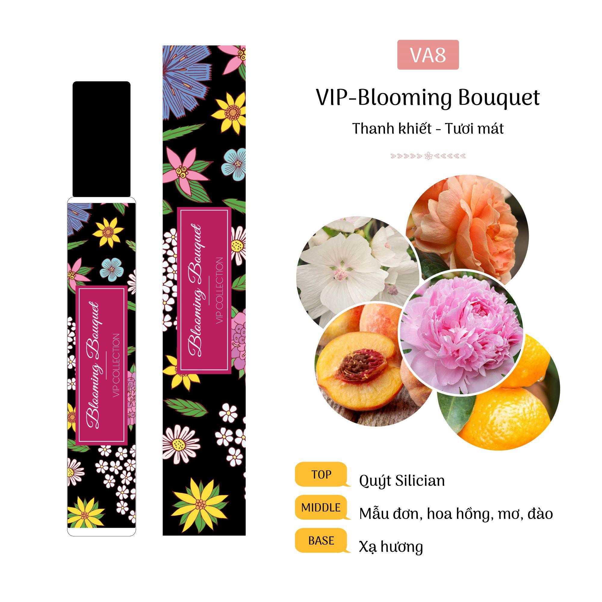 Tinh Dầu Nước Hoa Pháp Blooming Bouquet