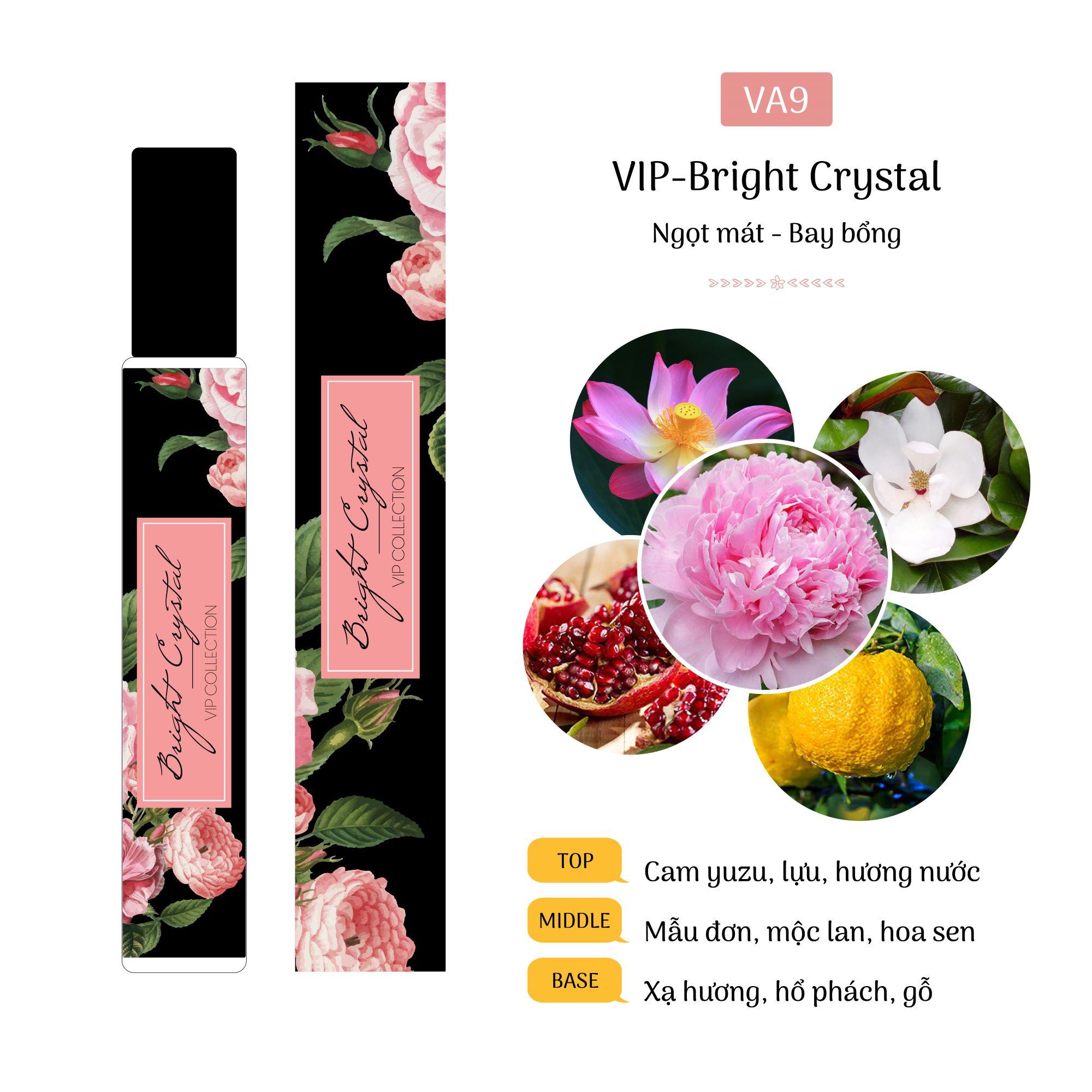 Tinh Dầu Nước Hoa Pháp Bright Crystal