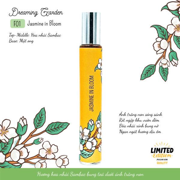 Tinh dầu hoa nhài Jasmine in Bloom