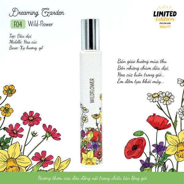 Tinh dầu nước hoa Wildflower