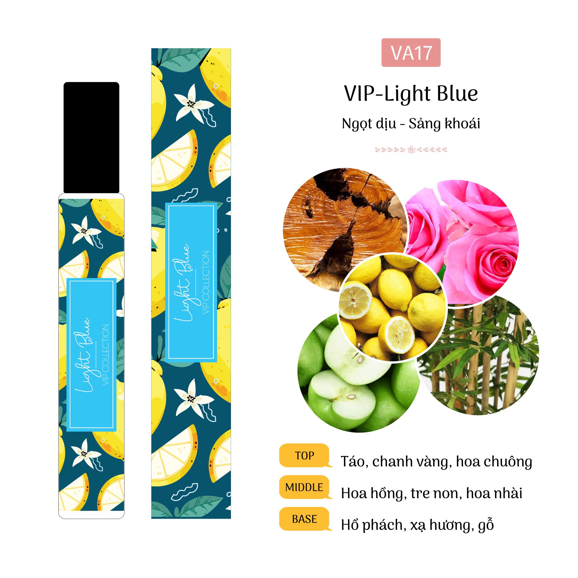 Tinh dầu nước hoa Light Blue