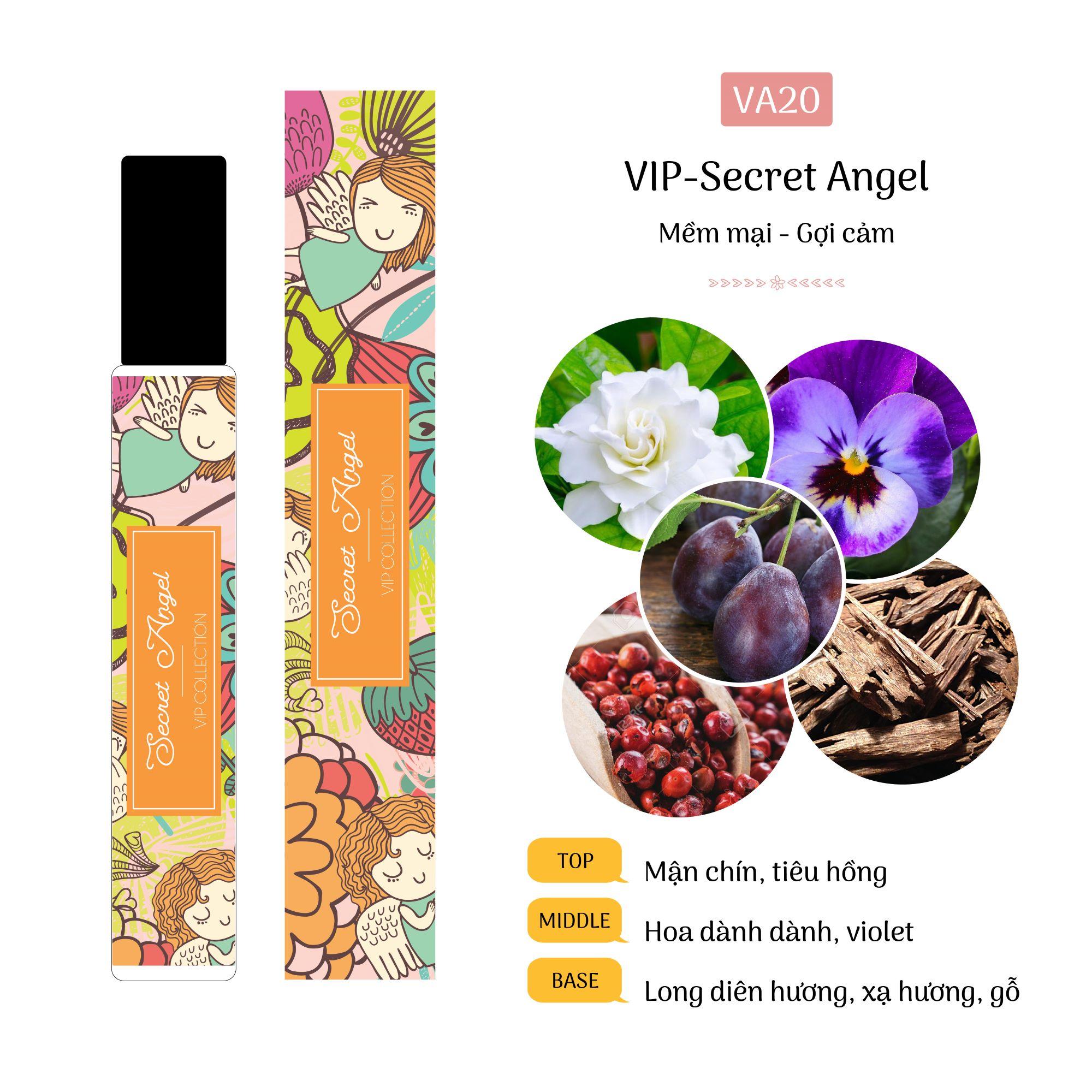 Tinh Dầu Nước Hoa Pháp Secret Angel