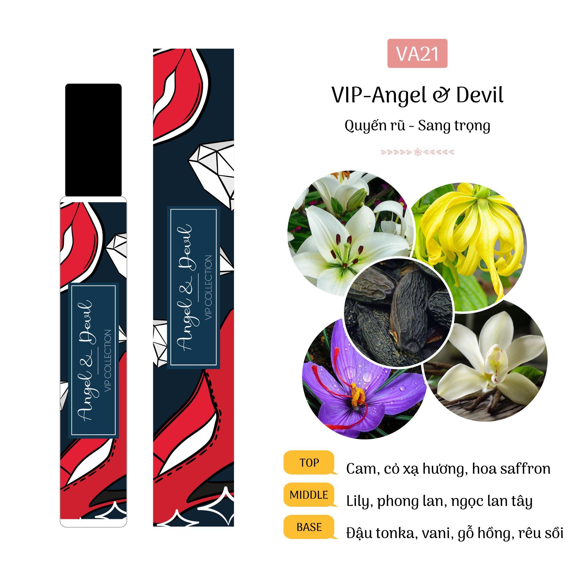 Tinh Dầu Nước Hoa Pháp Angel & Devil